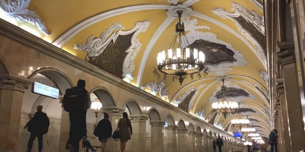 Passeie pelas estações mais luxuosas do mundo no metrô de Moscou - principal sede da Copa