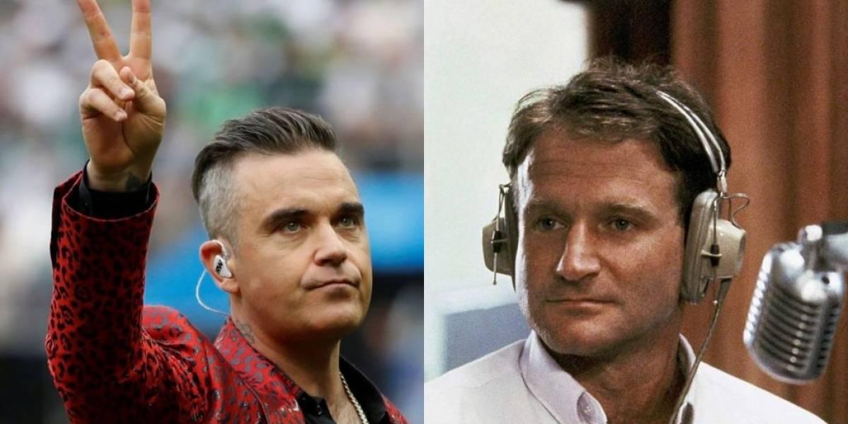 Robbie Williams é confundido com falecido ator Robin Williams e vira o meme da abertura da Copa