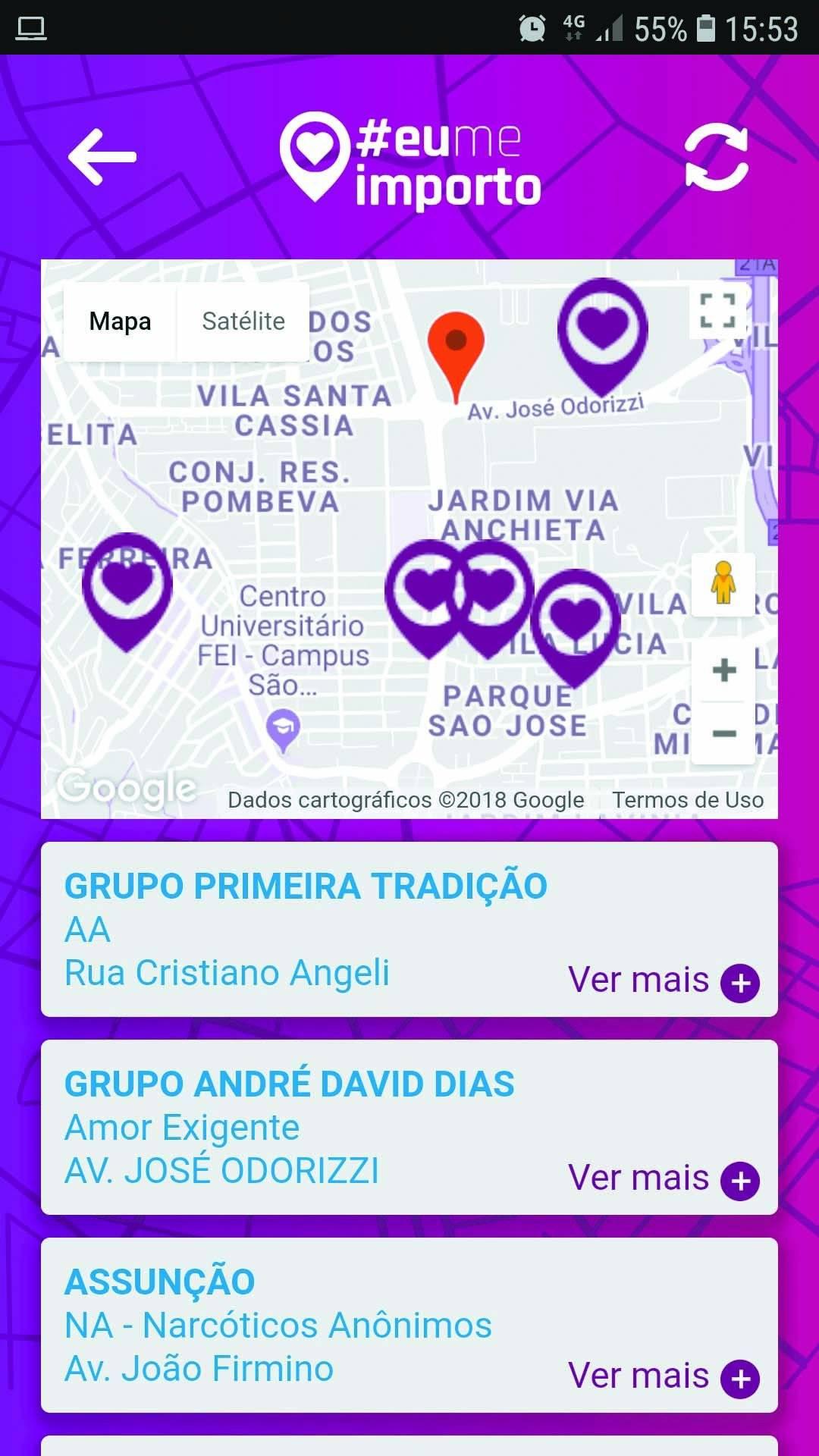app #EuMeImporto