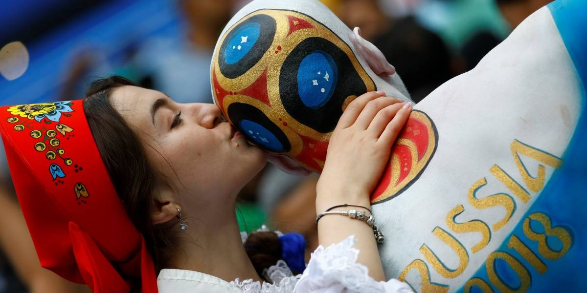 Veja imagens da cerimônia de abertura da Copa do Mundo 2018