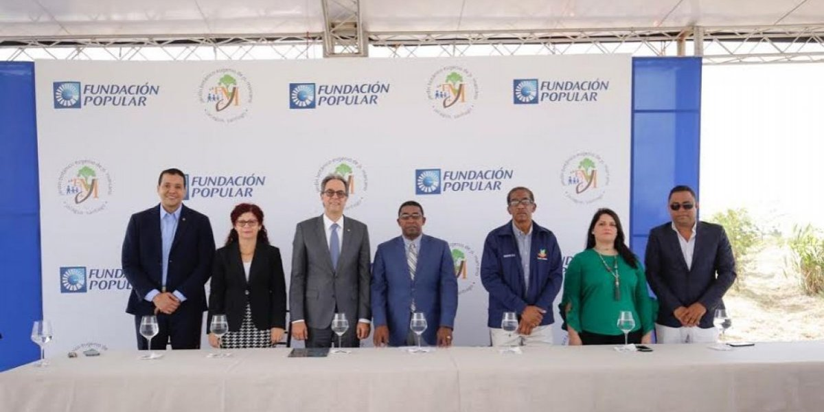 Fundación Popular auspicia creación de humedal en el botánico de Santiago