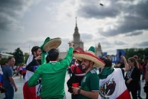 Hinchas de México en Rusia
