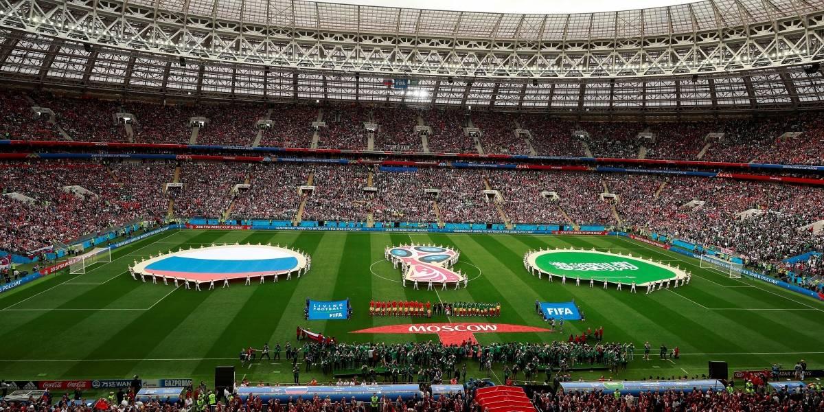 ¡Colores y música! Así fue la inauguración del Mundial Rusia 2018