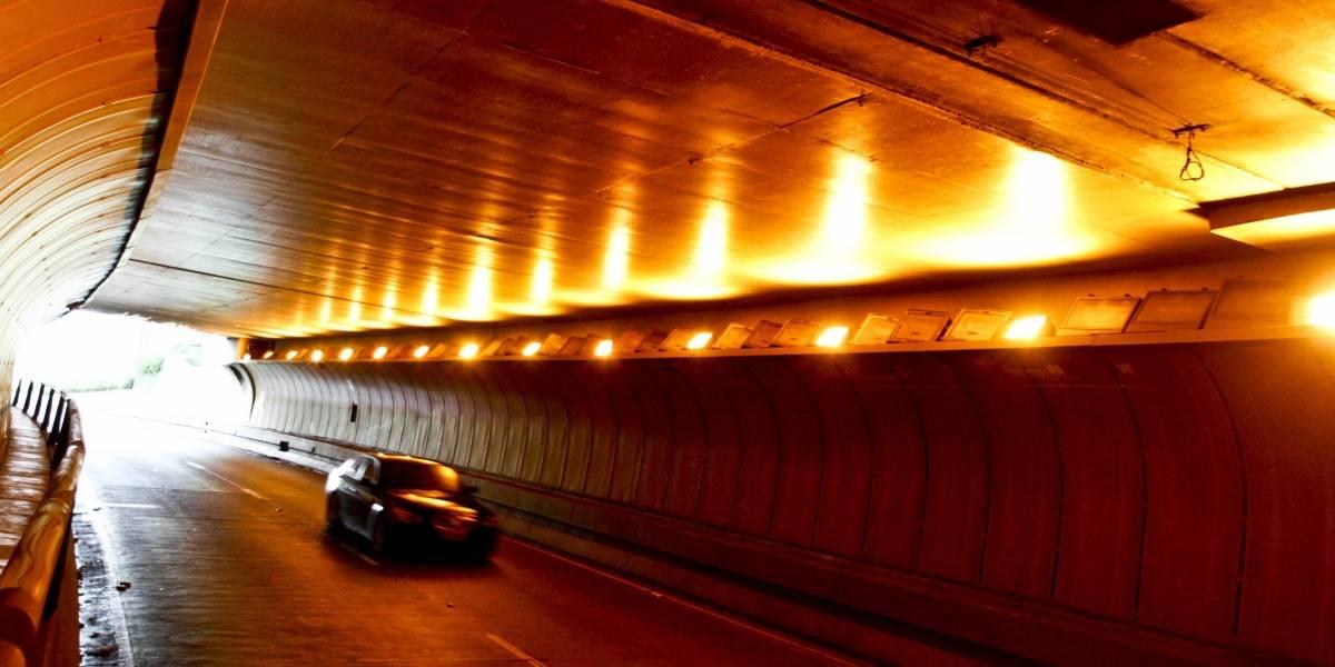 Túnel Ayrton Senna já tem radar de fiscalização de velocidade