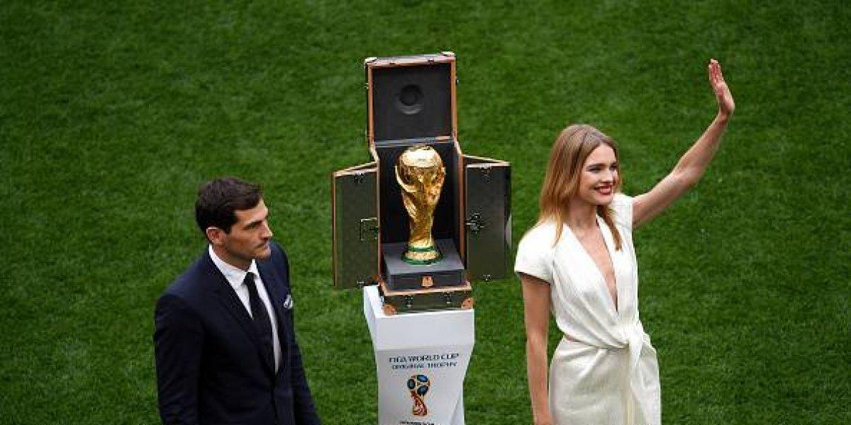 Iker Casillas presentó la Copa del Mundo en Rusia 2018