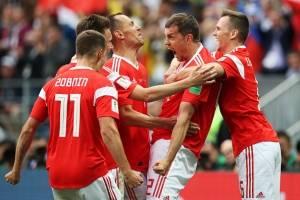 Rusia vs Arabia Saudita: Emocionante goleada de Rusia en la inauguración a Arabia Saudita