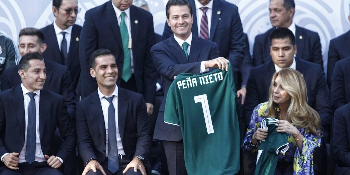 'Confiamos plenamente en ustedes', Peña a la Selección nacional
