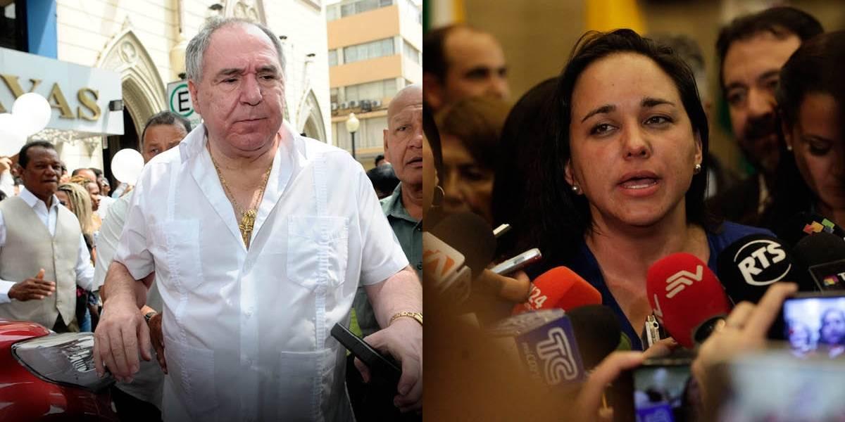 Abdalá Bucaram habla de Gabriela Rivadeneira