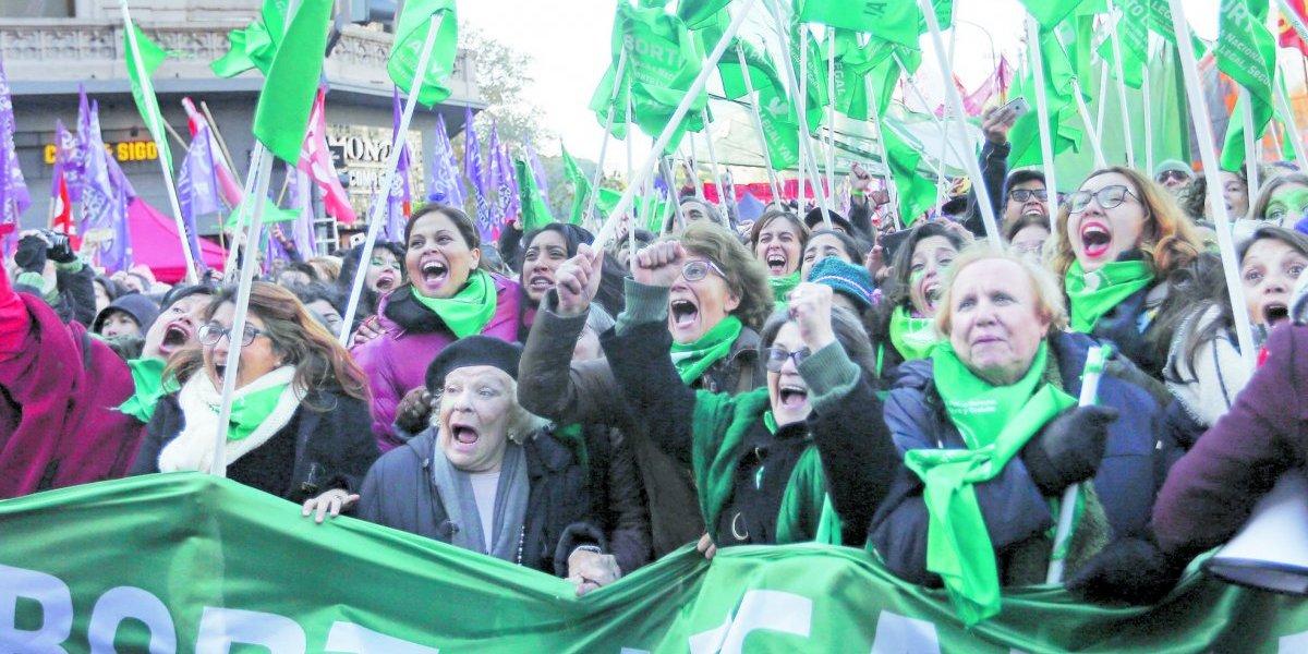 Paso histórico al aborto legal en Argentina