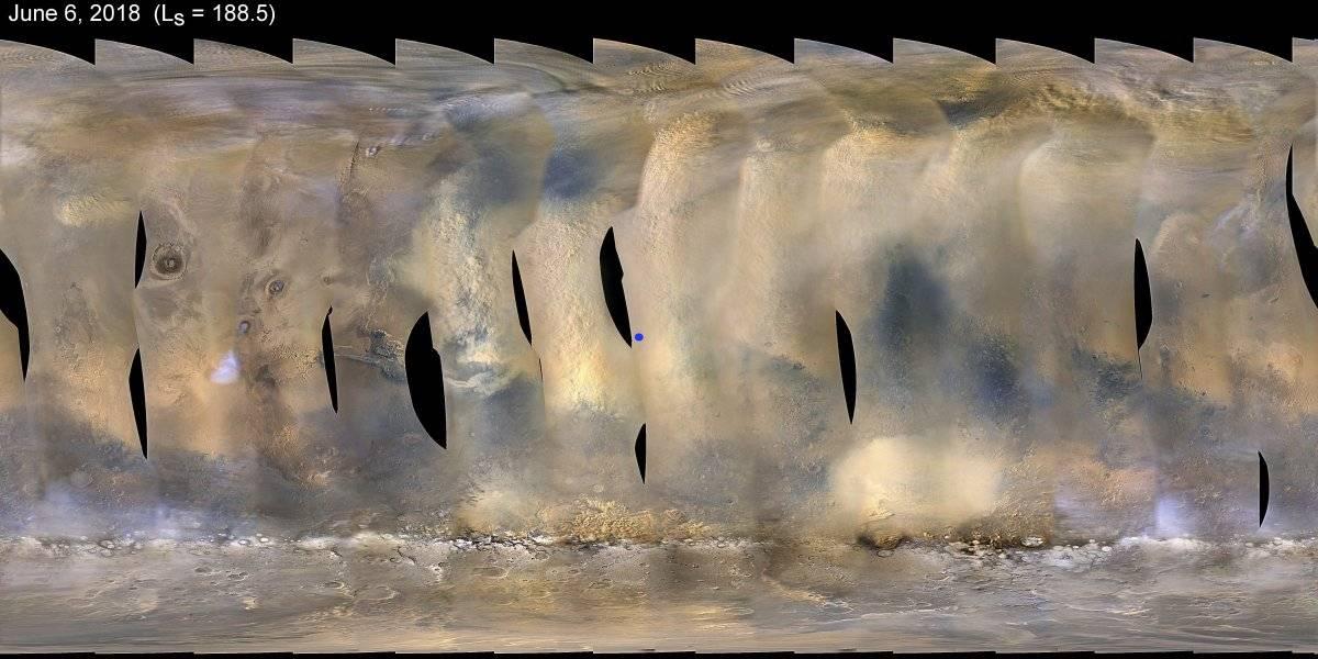 tormenta arena Marte