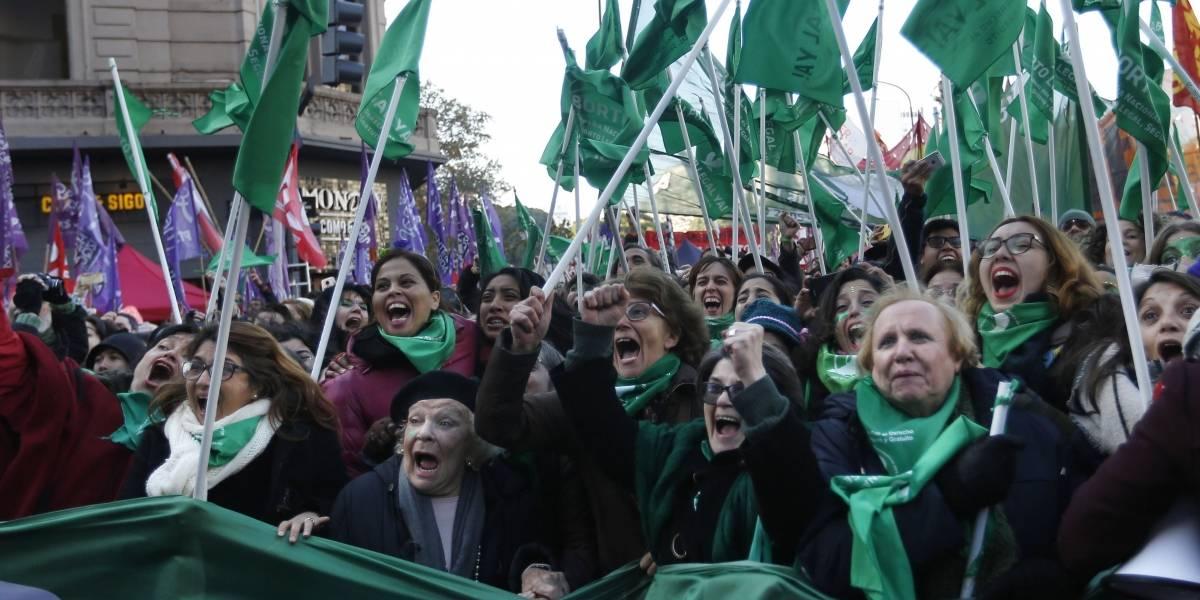 Así se vivió en las calles de Argentina el triunfo de la legalización del aborto en el Congreso