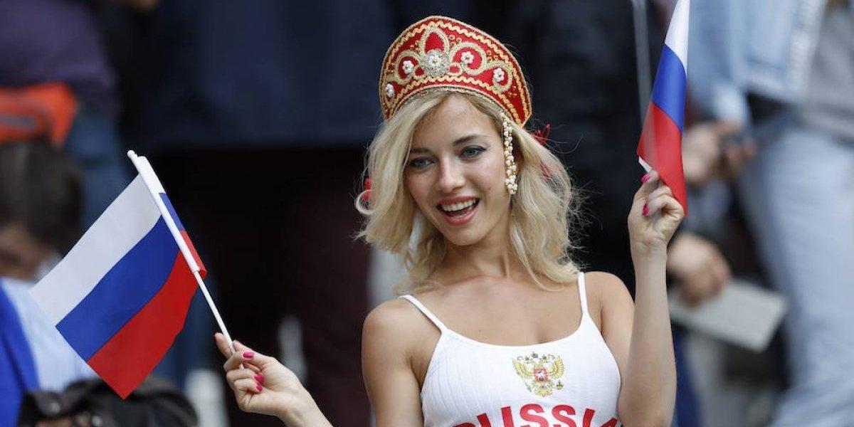Las bellezas de la inauguración del Mundial Rusia 2018