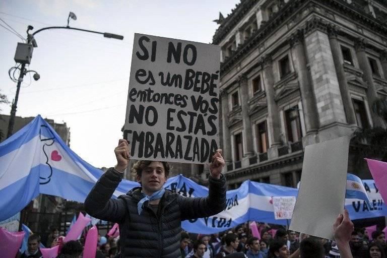 Ley de legalización del aborto en Argentina