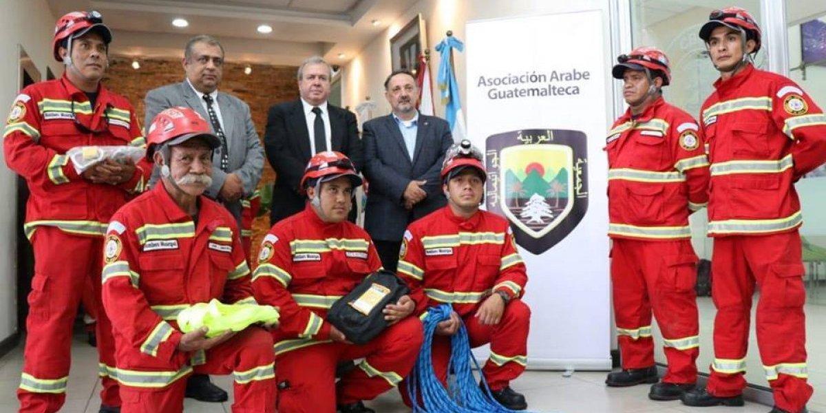 Bomberos Municipales reciben donación de equipo especial de rescate