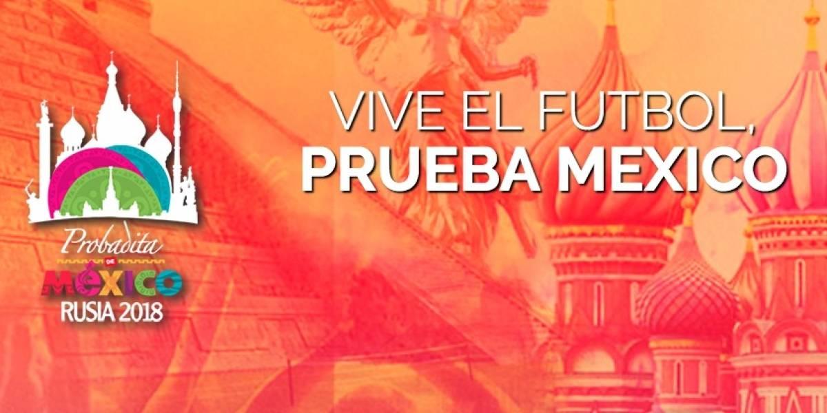 Mundial de Futbol de Rusia tendrá 'Una probadita de México'