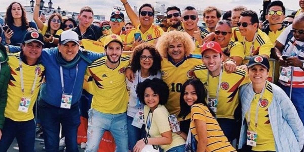 ¡Estos son los famosos colombianos que están en el Mundial de Rusia!