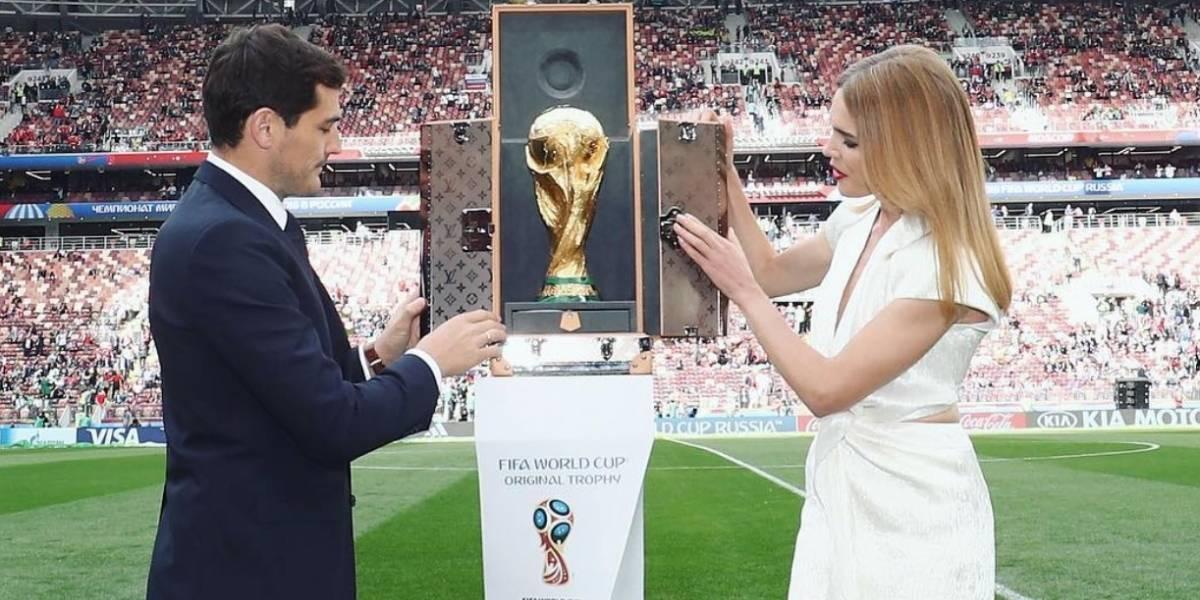 Ella es la hermosa modelo rusa que presentó la Copa del Mundo