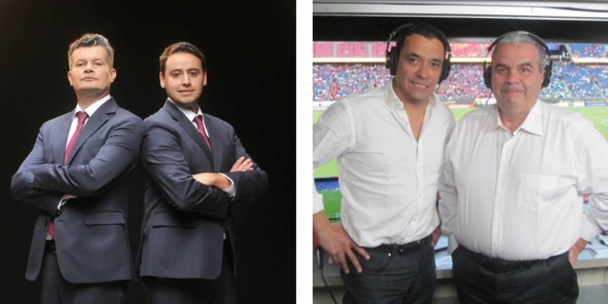 ¿Pero cómo? Mega y Canal 13 aseguran que ganaron en el rating de la transmisión del mundial de Rusia 2018