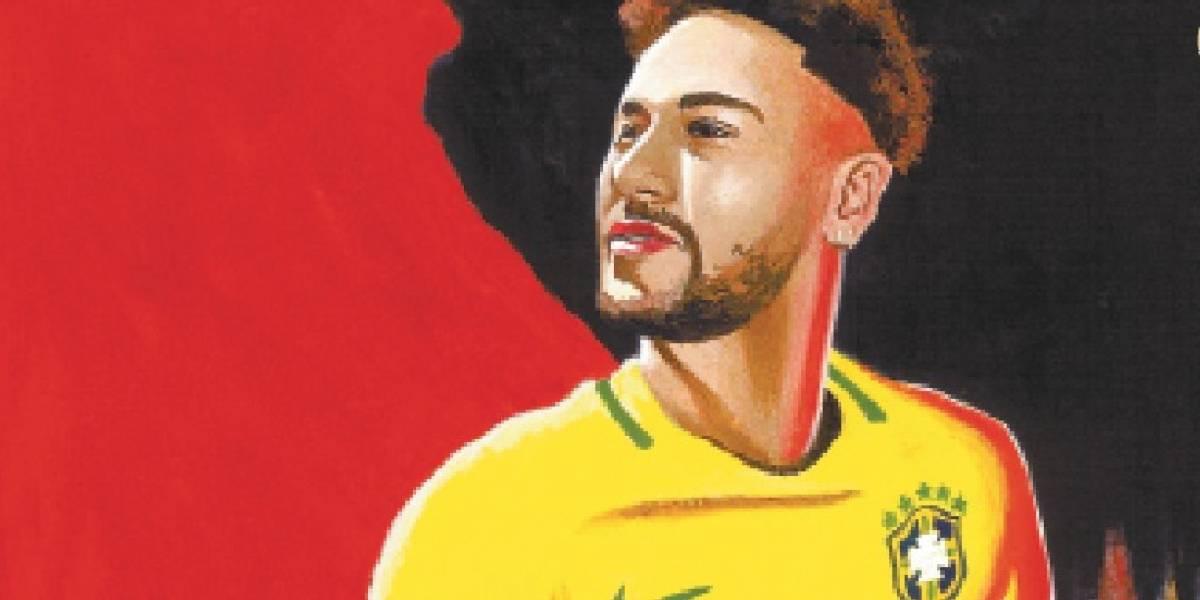 A vez de Neymar! Craque está pronto para levar Brasil ao topo; baixe o pôster
