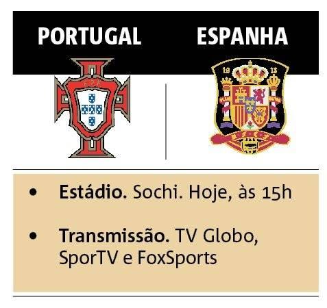 portugal e espanha jogo