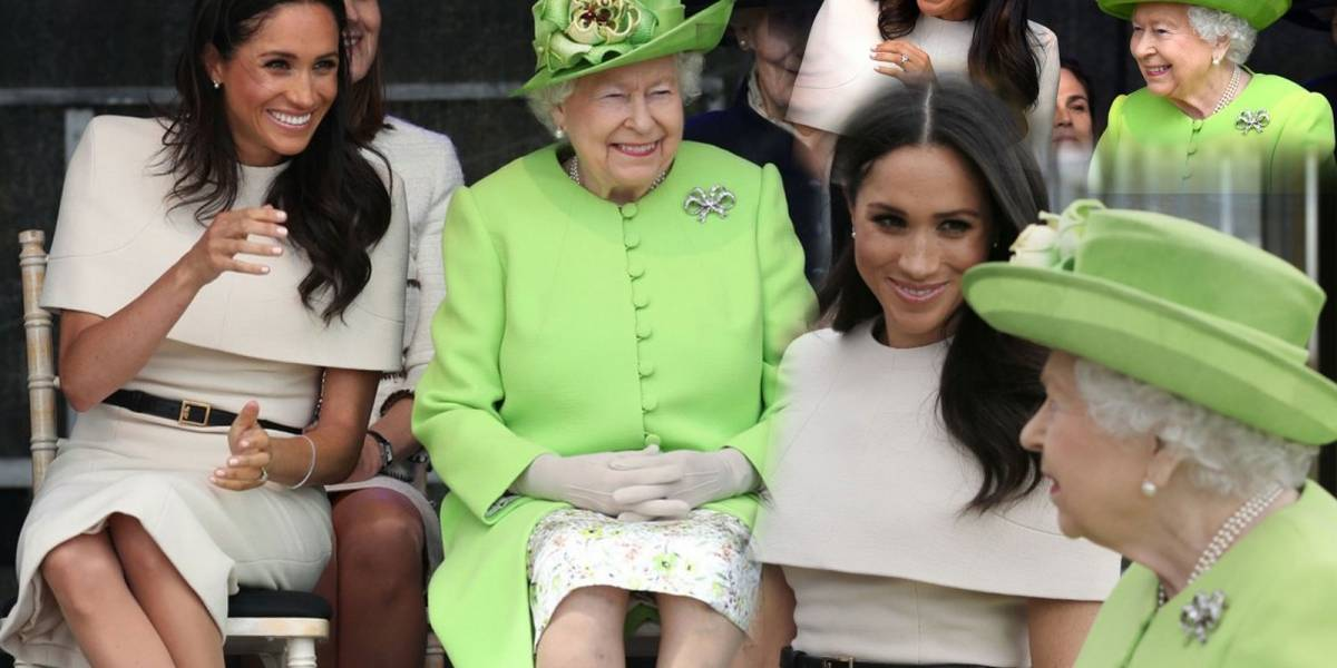 ¿La favorita de la Reina? Meghan Markle se divierte a carcajadas con la Reina Isabel II