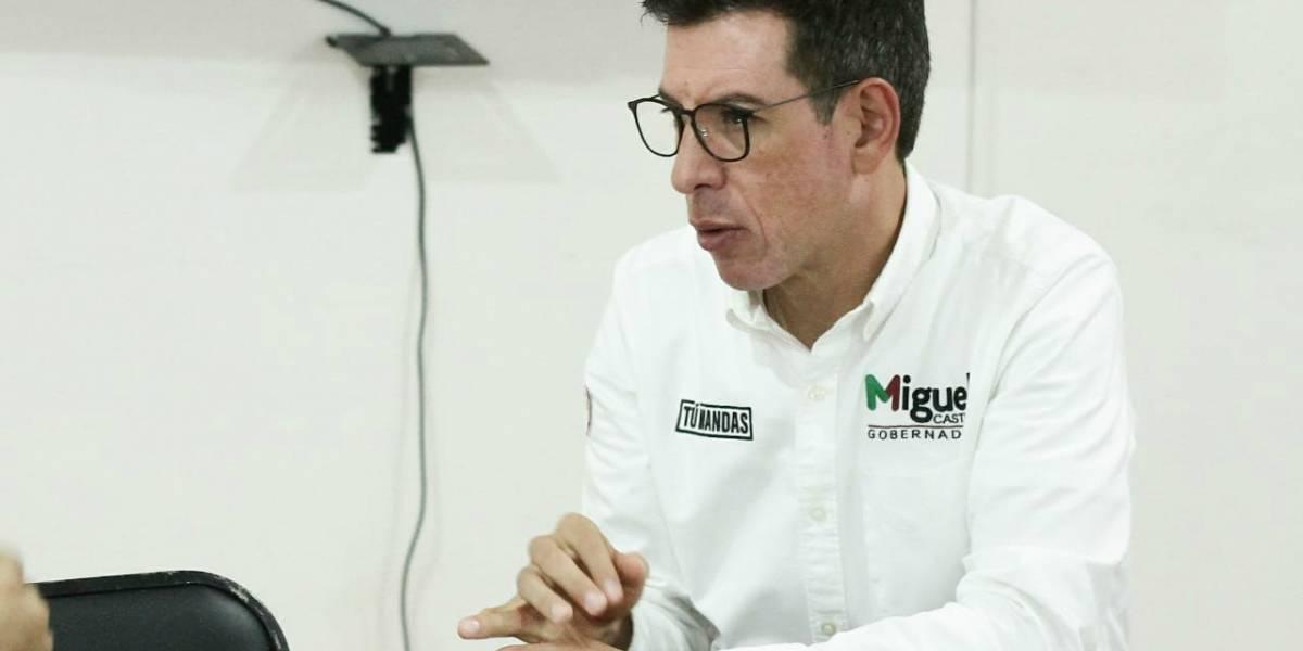 Proponer es la única forma de ir hacia adelante, afirma Miguel Castro