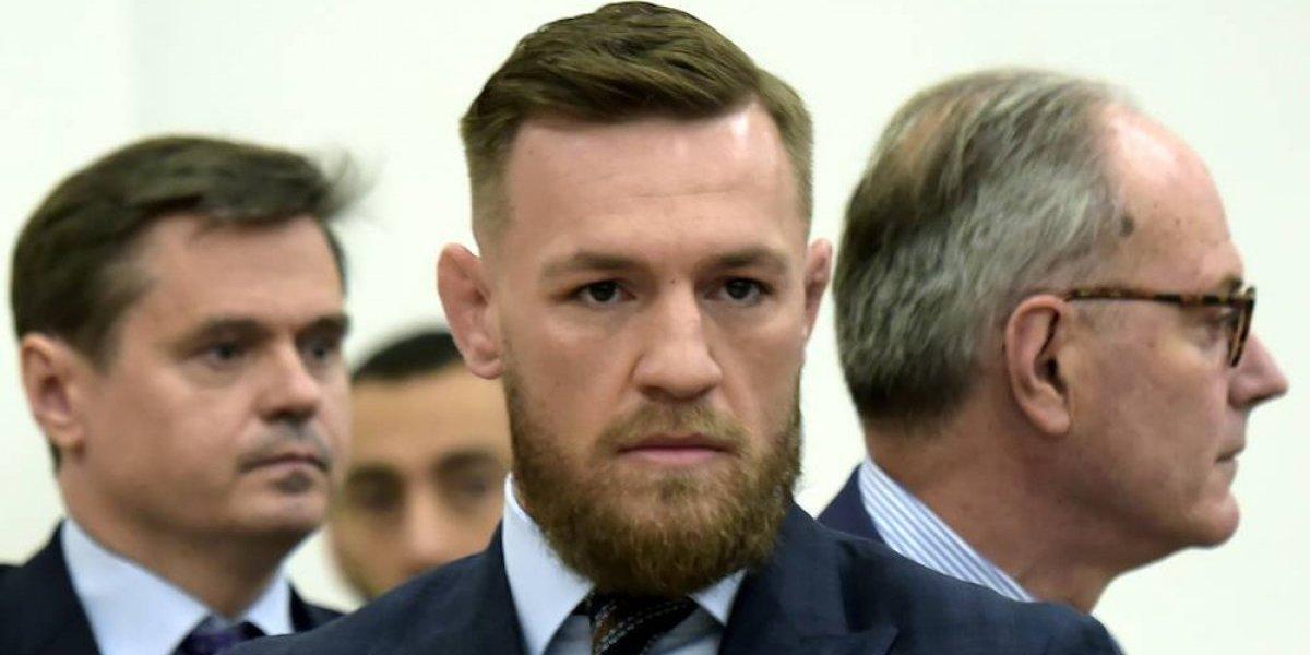 Conor McGregor se presenta ante corte por caso de trifulca en NY, se dice arrepentido