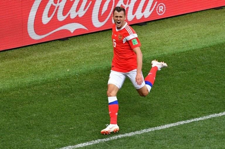 Cheryshev es el goleador ruso con tres tantos