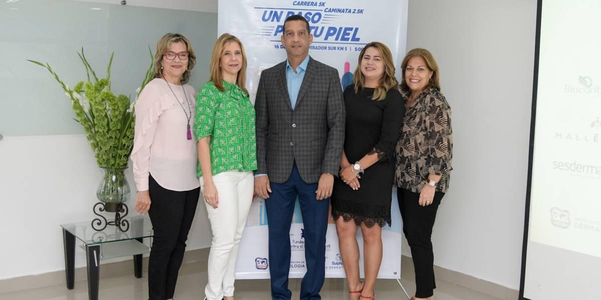 """#TeVimosEn: Sociedad Dominicana de Dermatología realiza su primera carrera benéfica """"Un paso por tu piel"""""""