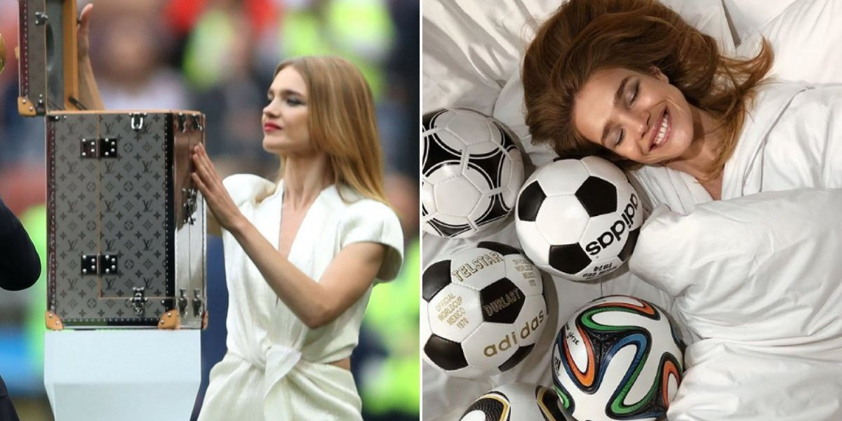 Copa do Mundo: Quem é a modelo russa que apresentou a taça do Mundial