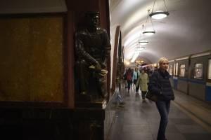 El metro de Moscú juega su propio partido durante el Mundial