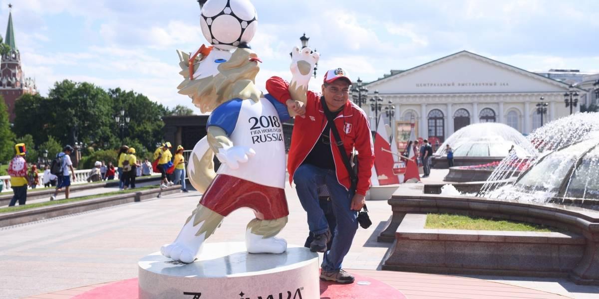 Rusia y Guatemala se fusionaron para vivir la pasión de la Copa del Mundo que inició hoy