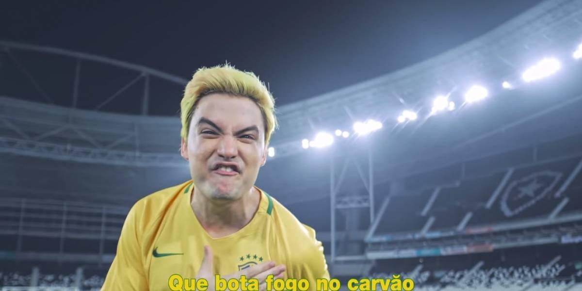 """Copa do Mundo: Felipe Neto lança """"música oficial"""" para o Mundial da Rússia"""