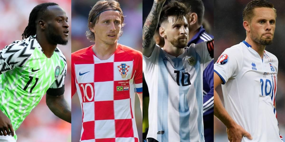 Tabla de posiciones del grupo D del Mundial Rusia 2018