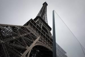 Muro de cristal de la Torre Eiffel