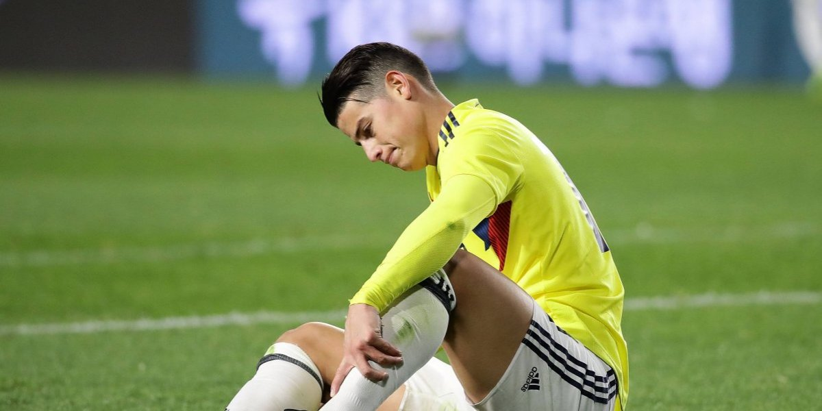 James Rodríguez y Wilmar Barrios no entrenaron con Colombia