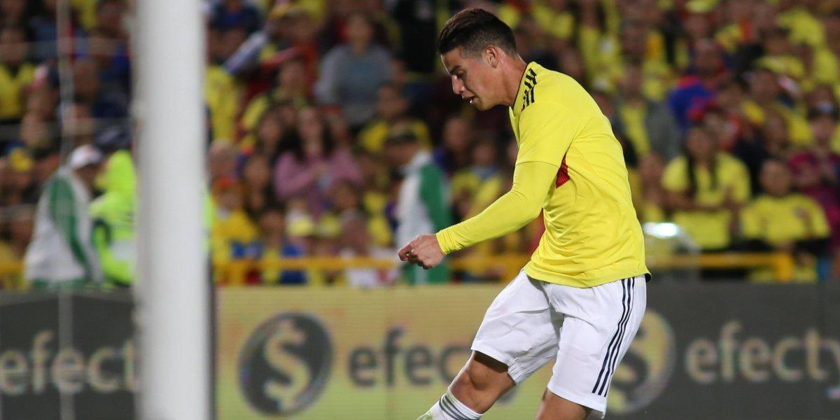 James Rodríguez enciende alarmas tras no entrenar con Colombia
