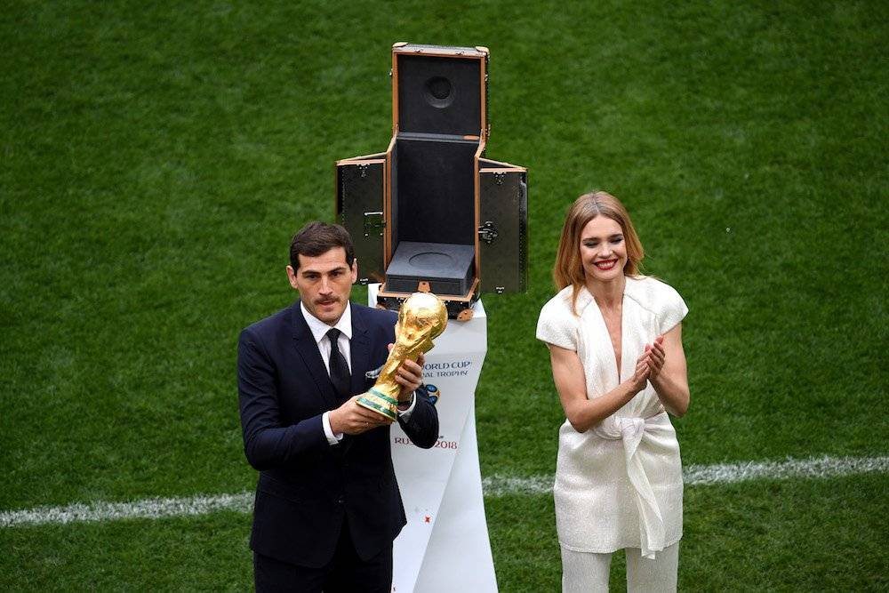 Natalia Vodianova e Iker Casillas Getty Images