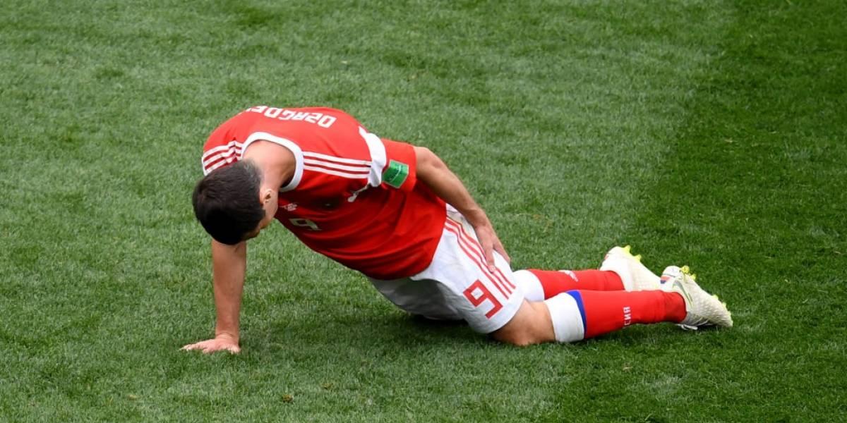 La increíble lesión que puede borrar del resto del Mundial a la figura de Rusia