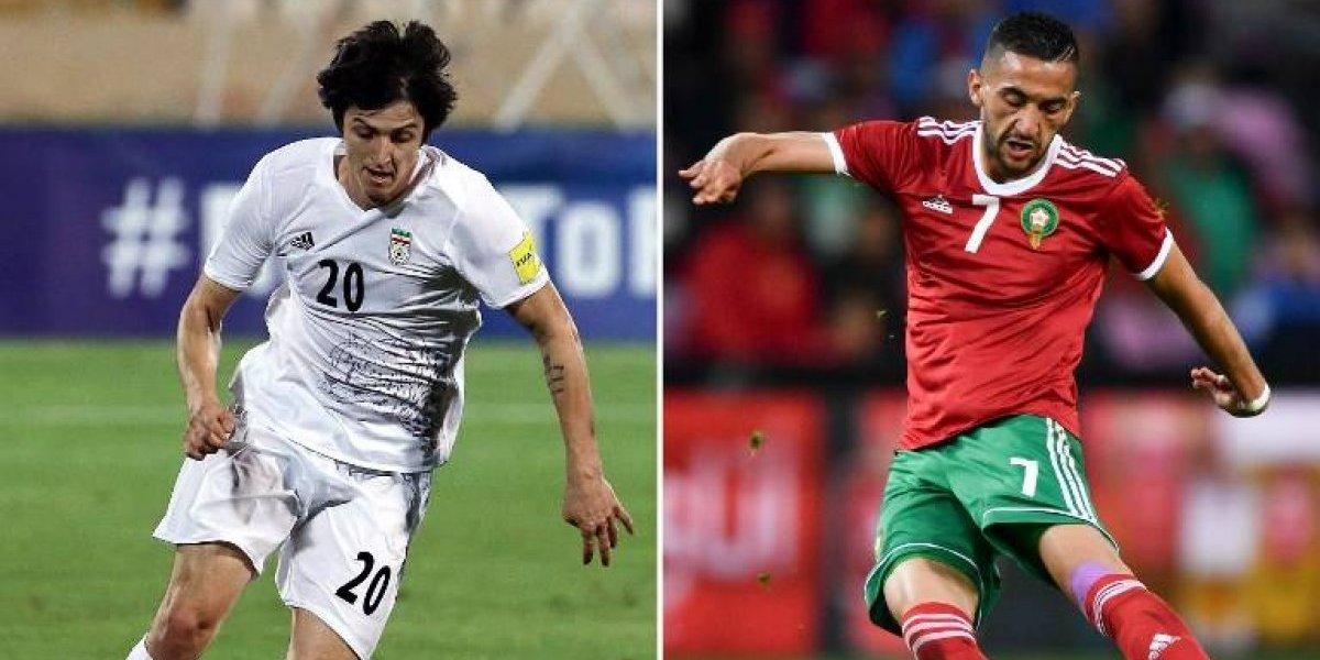 Marruecos e Irán se enfrentan en partido de selecciones defensivas