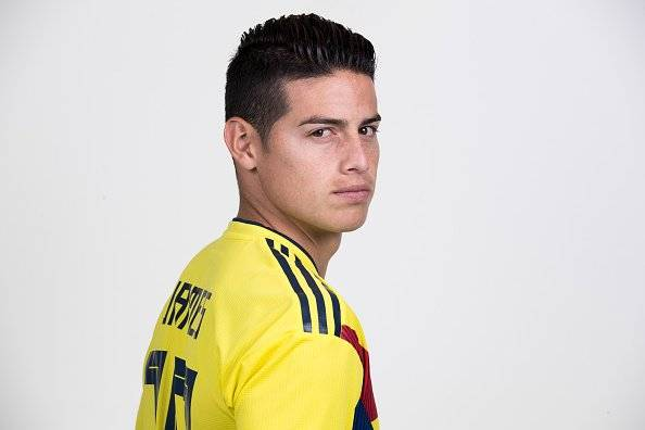 James Rodríguez Colombia GettyImages