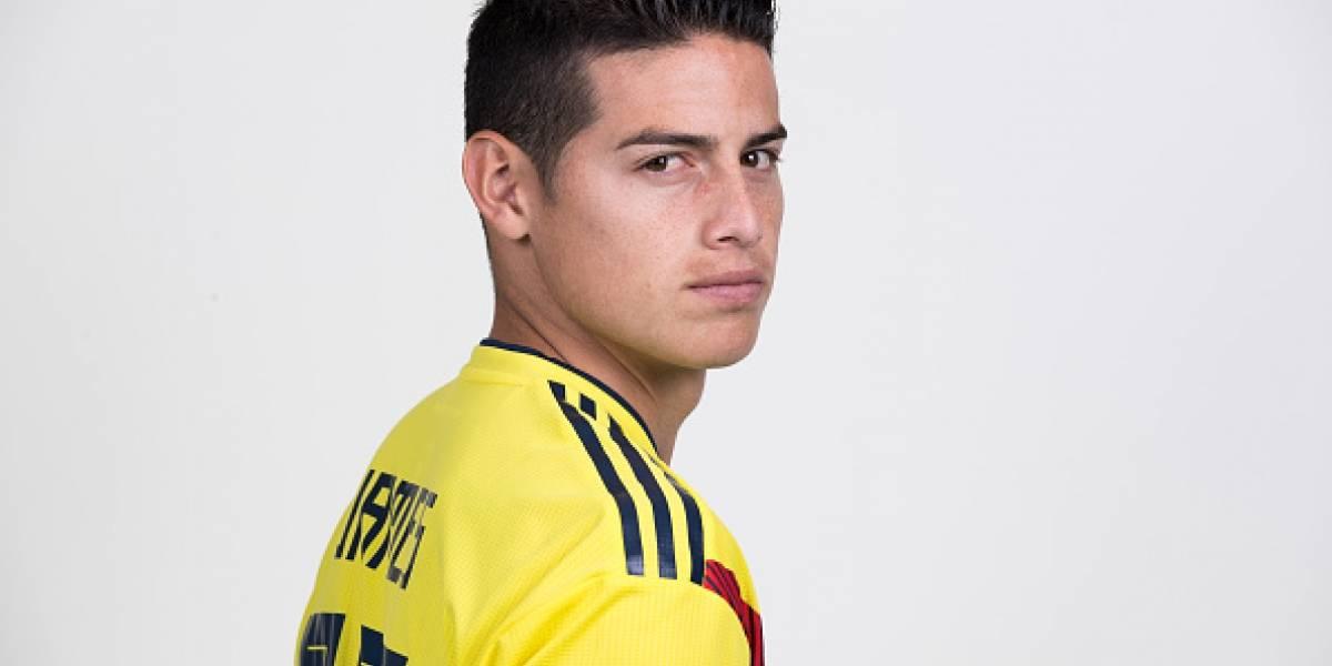 James Rodríguez sufre fatiga muscular pero llegará sin problemas al debut