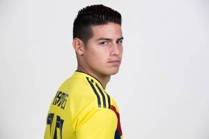 James Rodríguez Colombia