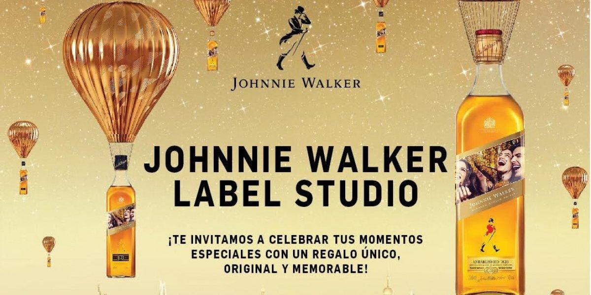 """Johnnie Walker se reafirma como el mejor regalo para  padres con """"Label Studio"""""""