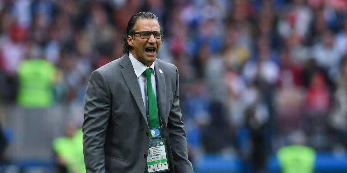 El primer regaño del Mundial lo dio el técnico de Arabia Saudita