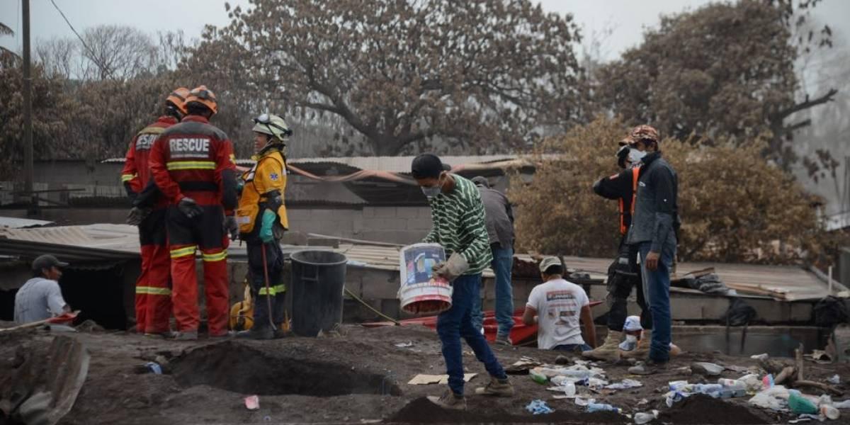Gobierno publica concurso para construir viviendas de damnificados por volcán de Fuego