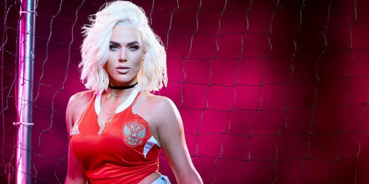 Las divas de la WWE se contagian de la fiebre mundialista