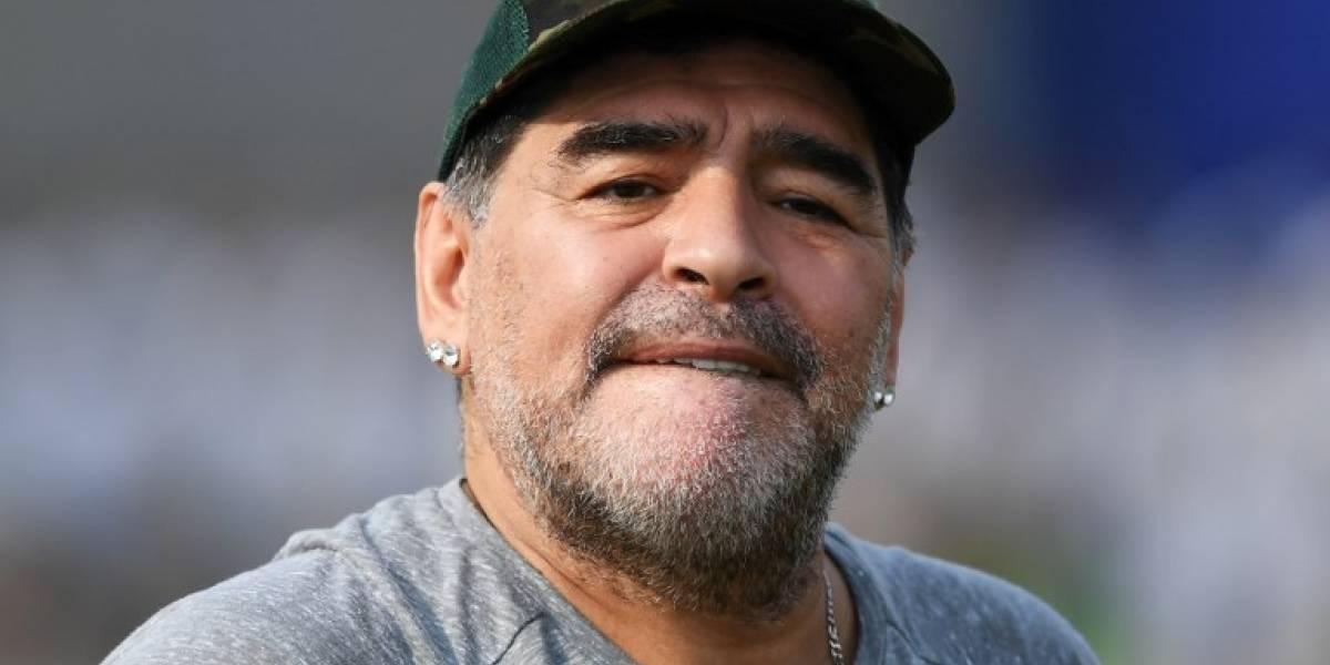 """VIDEO. Maradona dice que México """"no merece"""" ser sede del Mundial 2026"""