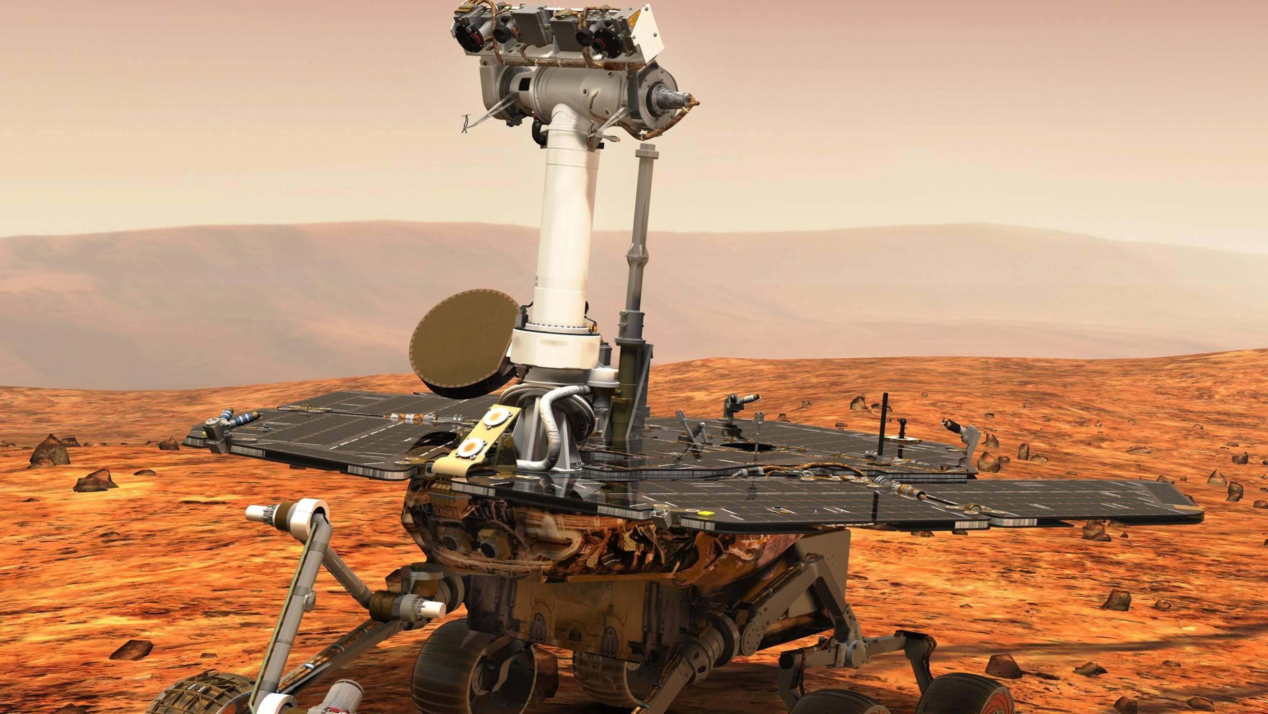 Fuertes tormentas de polvo en Marte han sido las responsables de acabar con el agua en el planeta