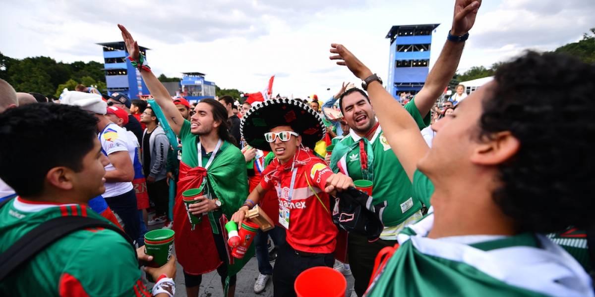 Fans mexicanos terminaron con las reservas de alcohol en bares de Rusia